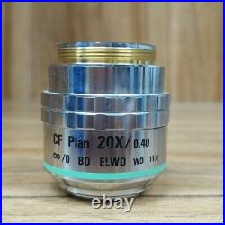 1pcs microscope objective for Nikon CF Plan 20X/0.40 BD ELWD