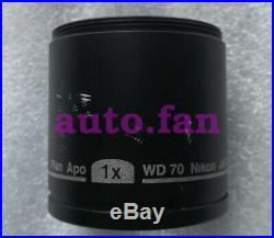 1pcs used Nikon Plan Apo 1X WD70 SMZ800 Volumetric microscope Objective