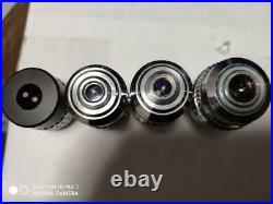 Due date limited value microscope 4 objective lenses plan nikon Home appliances