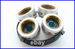 Ex Nikon Optiphot BD Plan DIC 4 Objective Nosepiece Turret Microscope 26mm 21968
