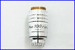 Excellent++ Nikon Plan 100X/1.25 160mm Oil DIC Microscope Objective Lens #2039
