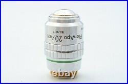 Mint Nikon Plan Apo 20x 0.75 160/0.17 Microscope Objective Lens 20.25mm 21519
