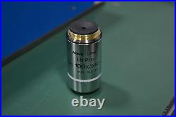 NIKON LU PLAN WD 100X/0.80 B Microscope objective