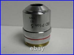 NIKON Microscope Objective BD PLAN 5 0.1 210/0