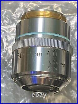 NIKON Microscope Objective Lens BD PLAN 40x/ 0.5 ELWD 210/0