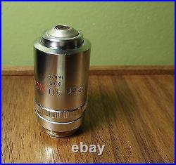 NIKON Plan 40X NCG Microscope Objective Lens 40/0.65 No Cover Glass 160mm