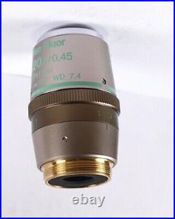 NIKON Plan Fluor ELWD 20x Ph1 DM Phase DCI L Eclipse Microscope Objective