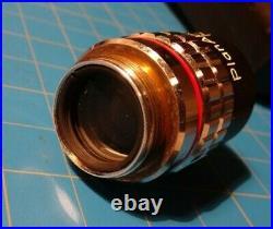 Niko Plan Apo 4/0.20 160/- Lens 4x Objective Optiphot Wafer UV Microscope Macro