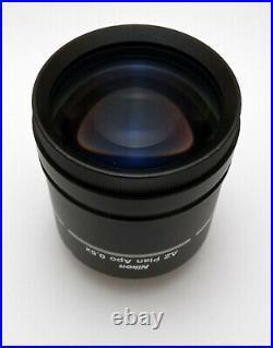 Nikon AZ Plan Apo Objective 0.5x AZ100 Multizoom Microscope Objective