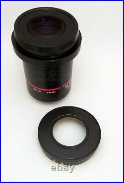 Nikon AZ Plan Apo Objectives 0.5x, 1x and 4x AZ100 Multizoom Microscope Lenses