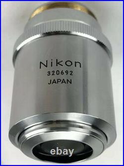 Nikon BD Plan 100x/0.90 Dry 210/0 Microscope Objective 26mm Thread 110% Refund