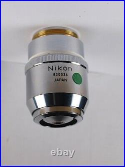 Nikon BD Plan 100x LWD /0.90 Long Working Distance 210 TL Microscope Objective