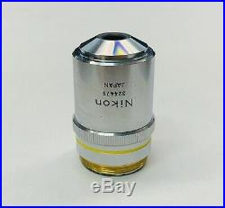 Nikon BD Plan 10X/0.25 Microscope Objective M26 Thread 210mm
