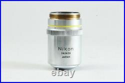 Nikon BD Plan 10x 0.25 210/0 Microscope Objective from Japan #2384