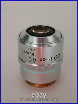 Nikon BD Plan 40 ELWD Microscope 40x Objective