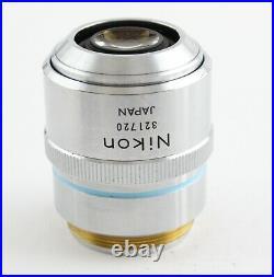 Nikon BD Plan 40x 0.5 ELWD Microscope Objective 210 Optiphot Epiphot