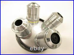 Nikon BD Plan 5X 10X 20X 40X Microscope M26 Objective Lens Turret for OPTIPHOT