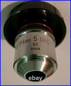 Nikon BD Plan 5 DIC 0.1 210/0 Microscope Objective