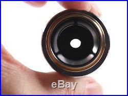 Nikon BD Plan 60x Dry 210 TL Metallurgical Microscope Objective