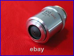 Nikon BD Plan DIC 100x 0.90 Dry 210/0 Microscope Objective
