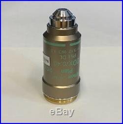 Nikon CFI 20x DL Ph1 Phase Contrast Microscope Objective Eclipse E200 E400 E600