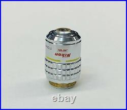 Nikon CFI Plan 10X/0.30 DL Phase Microscope Objective 160mm Optiphot Labophot ++