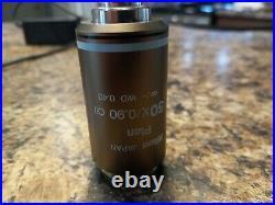 Nikon CFI Plan 50x&100x Oil Microscope Objective Eclipse 50 55i E200 E400 E600