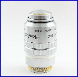 Nikon CFN Plan APO 100x /1.40 160mm TL Microscope Objective PlanAPO