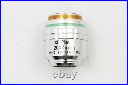 Nikon CF Plan 20X/0.40 E BD ELWD DIC Microscope Objective Lens #1662