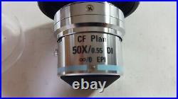 Nikon CF Plan 50X/0.55 DI Microscope objective lens Free Fast Shipping