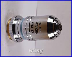 Nikon CF Plan 50x /0.8 EPI Infinity Microscope Objective with M27 adapter