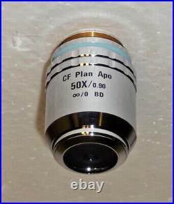 Nikon CF Plan APO 50X BD Microscope Objective