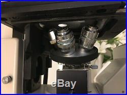 Nikon Diaphot With 4 Objectives PH1 Dl 10 20 DIC 40 DIC. PLAN 10 DIC