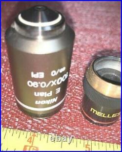 Nikon E Plan 100X/0.90 /0 WD23 Microscope Objective and Others Guaranteed
