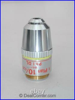 Nikon E Plan 10x Ph2 DL Microscope Objective