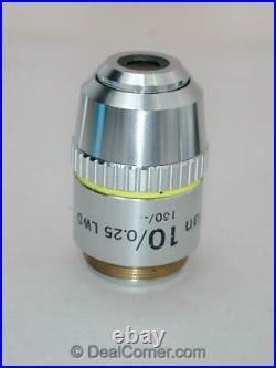 Nikon E Plan 10x lwd Microscope Objective