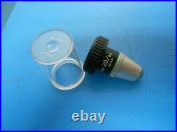 Nikon E Plan 20/0.4 160/0.17 Microscope Objective Lens