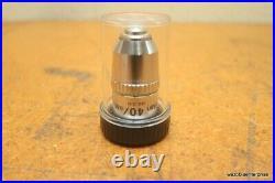 Nikon E Plan 40 40/0.65 160/0.17 Microscope Objective