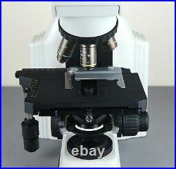 Nikon Eclipse E400 Research Microscope with Ergo Head & 3 Nikon Plan Objectives