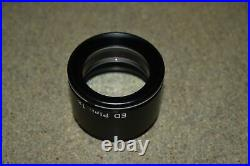 Nikon Ed Plan 1x Objective For Stereo Microscope (de29)
