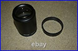 Nikon Ed Plan 2x Objective For Stereo Microscope (de28)