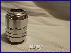 Nikon LCD Plan 100X/0.90 Microscope Objective Lens