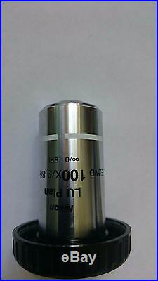Nikon LU Plan 100x/0.8 ELWD microscope Objective