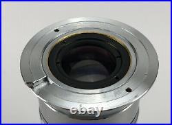 Nikon M Plan 1x / 0.03 Metalurgical Reflected Light Microscope Objective
