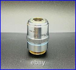 Nikon M Plan 40X/0.5 ELWD Microscope Objective Lens 210mm Extra Long Working