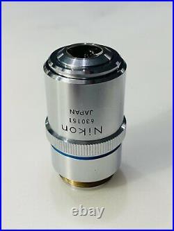 Nikon M Plan 60X/0.70 ELWD Microscope Objective Lens 210mm rms