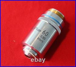 Nikon M Plan 60x 0.80 210/0 Microscope Lens