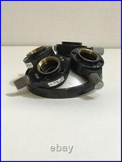 Nikon Microscope Nosepiece DIC Prims 5x, 20x, 10,40, &100x For M Plan