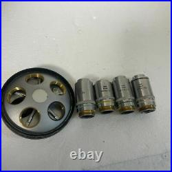 Nikon Microscope Objective Lens BD Plan 10/20/40/100 4 Set Limited Japan MTE273