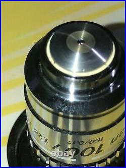 Nikon Microscope Objective Lens CF Plan Achromat DIC 100x for Finite systems